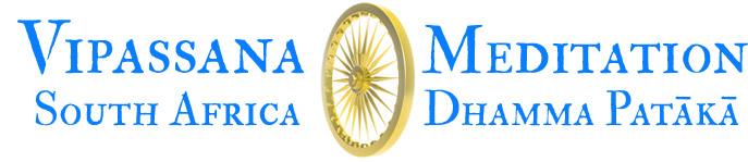 Vipassana Meditation: Dhamma Patākā Logo